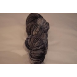 Merino Single Graublau